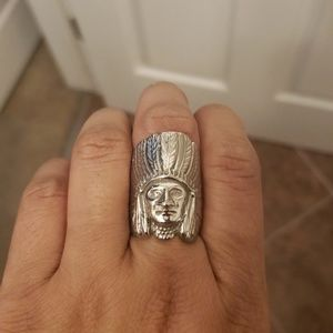Kimberly Baker Native American Chief Ring